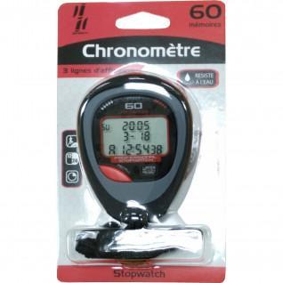 Stopwatch 60 geheugens Sporti France