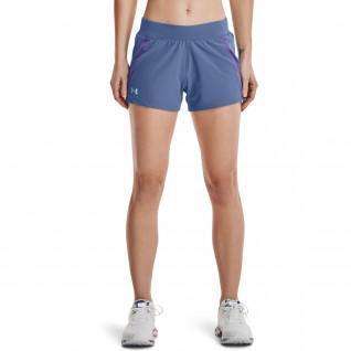 Dames shorts Under Armour Qualifier Speedpocket