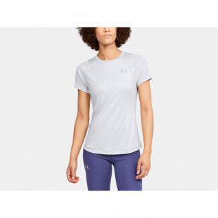 Vrouwen Onder Pantser Kwalificatie Iso-Chill Embossed T-shirt