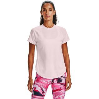 Dames-T-shirt Under Armour met korte mouwen Sport Hi-Lo