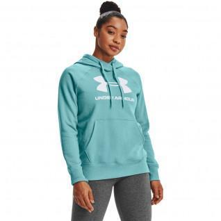 Under Armour Women's Hoody met Rival Fleece Logo