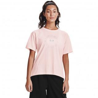 Grafisch Wordmark Under Armour Vrouwen T-shirt Korte Mouw