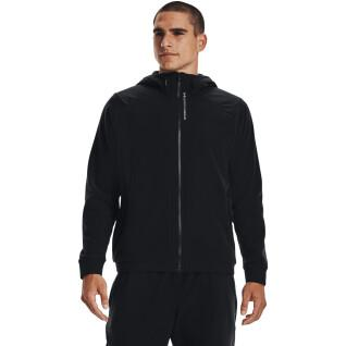 Fleece hoodie met volledige rits Under Armour RUSH™