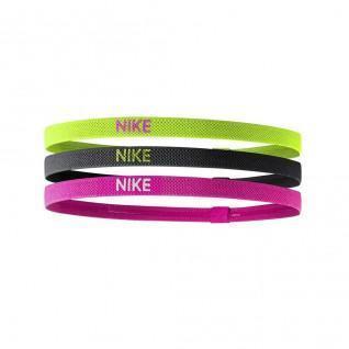 Set van 3 Nike elastische hoofdbanden