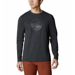 T-shirt met lange mouwen Columbia Tech Trail Graphic