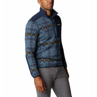 Columbia Sweatshirt 1/2 ritssluiting Columbia Sweater Weather Printed