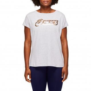 T-shirt vrouw Asics Grafisch Logo