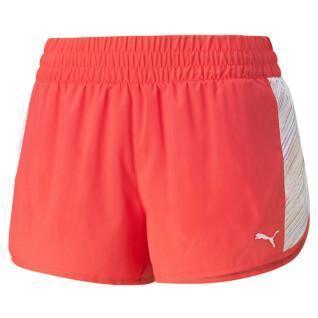 "Dames shorts Puma RUN GRAPHIC WOVEN 3"""