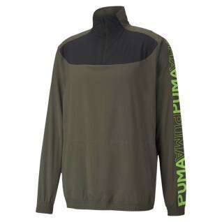 Sweatshirt 1/2 rits Puma Women