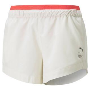 Dames shorts Puma Train Woven