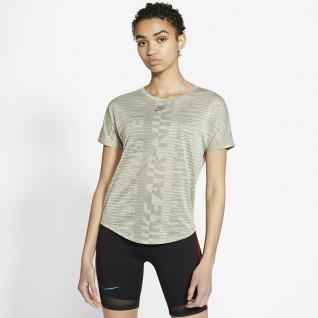 Dames-T-shirt Nike Air Light Army