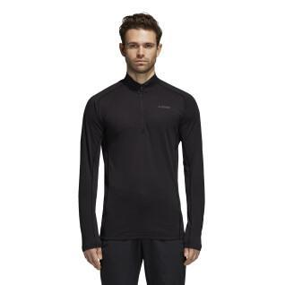 Sweatshirt 1/2 rits adidas TraceRocker