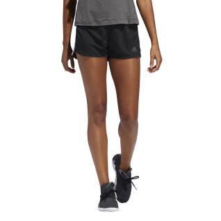 adidas Pacer Dames 3-Stripes gebreide korte broek