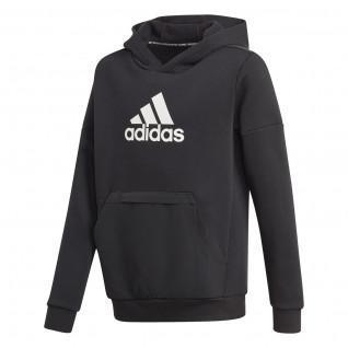 Sweater met capuchon voor kinderen adidas Badge of Sport Fleece