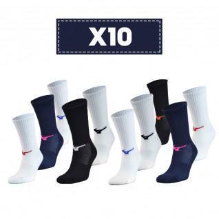 Pak van 10 sokken Mizuno Multisports