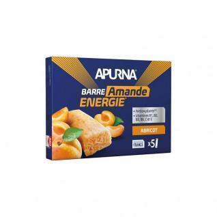 Pakket van 5 smeltende staven Apurna Abrikoos/Almond