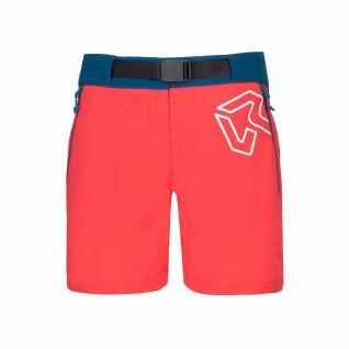 Dames shorts Rock Experience Scarlet Runner