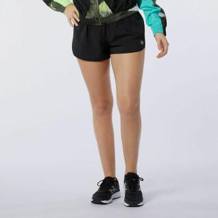 Dames shorts New Balance accelerate 2.13 cm