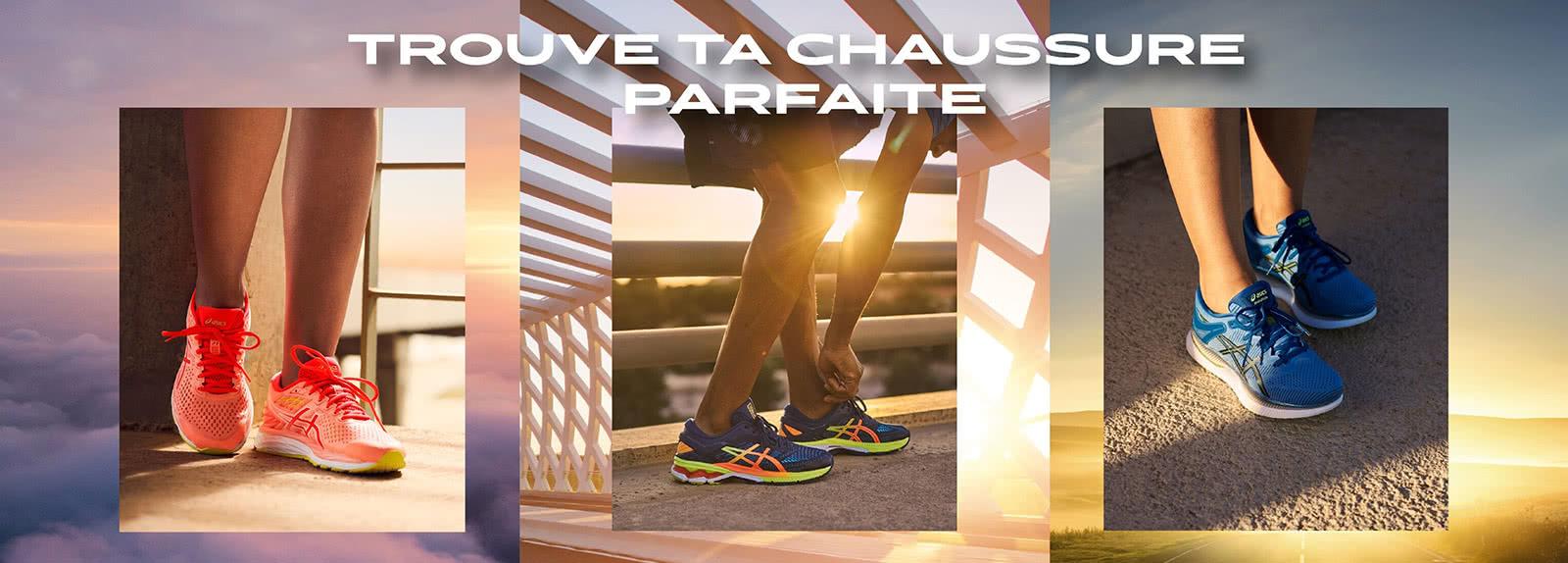 Trouve ta chaussure de running parfaite
